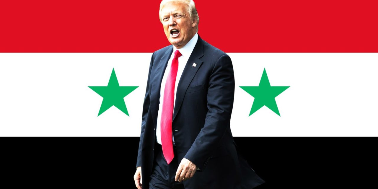 Heres What front Trump Administration Is Really Plotting inch Syria
