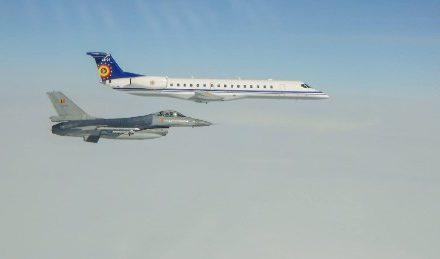 Belgium displays Russian airplane intercepts