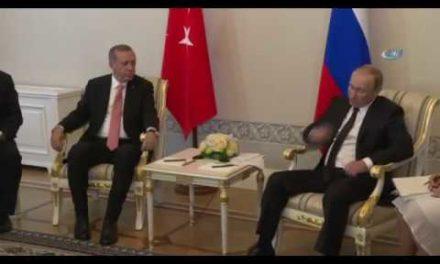 Putin İle Erdo ğan Telefonda Görüştü