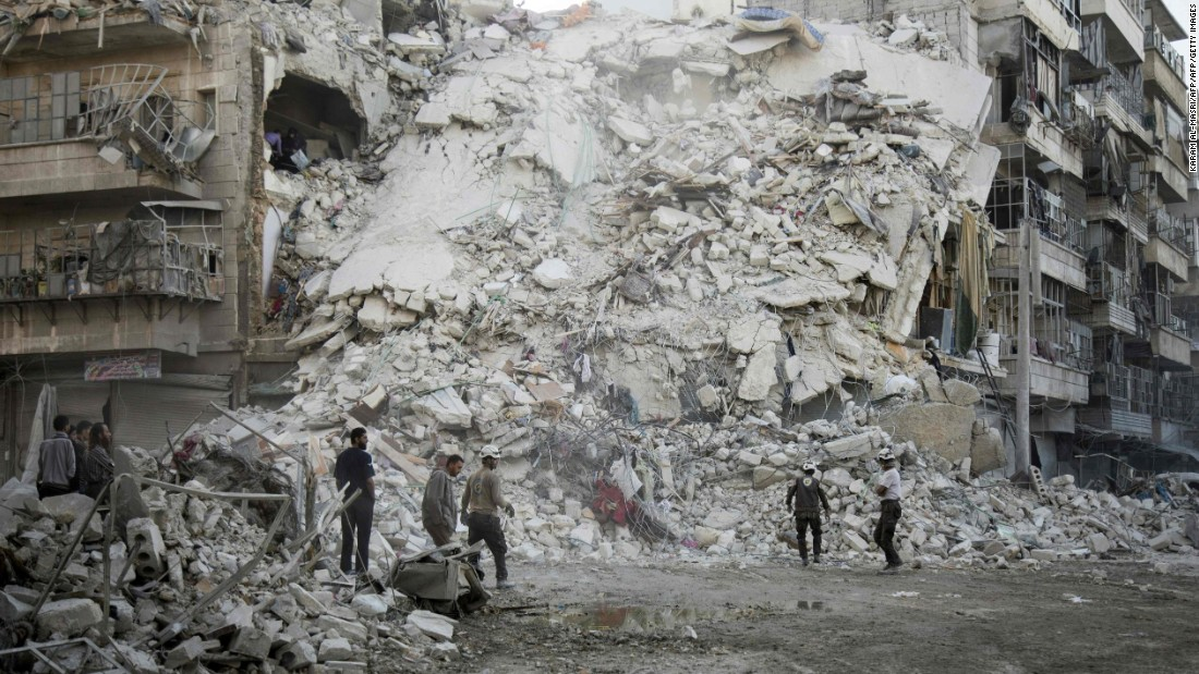 Syria: Aleppo locals state airstrikes have actually stopped