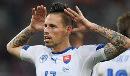 Euro 2016: Slovakia's Marek Hamsik collections Russia at the limit