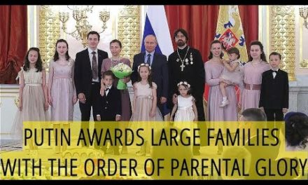 FAMILY MEMBERS PROTECTOR: Putin Twice Interrupted The Speech In The Kremlin Because Of The Crying Child