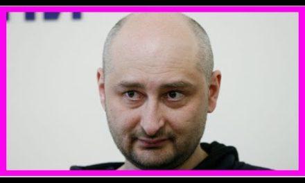 Arkady Babchenko, un asesinato 'phony' para desenmascarar al Kremlin