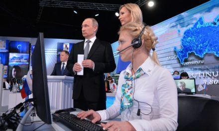 Putin's account phone-in has cartographic officers aspen of their shoe