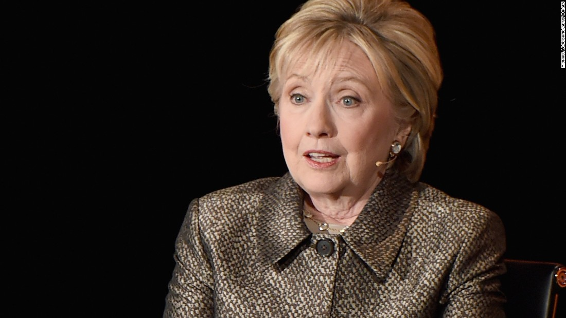 Hillary Clinton does not be worthy of all the held liable for Democrats' failing