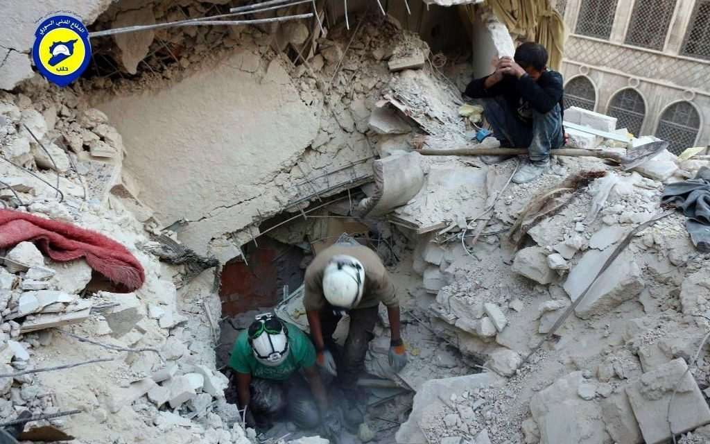 Medics Plead For Access To Syria's Embattled Aleppo As Government Forces Launch Offensive