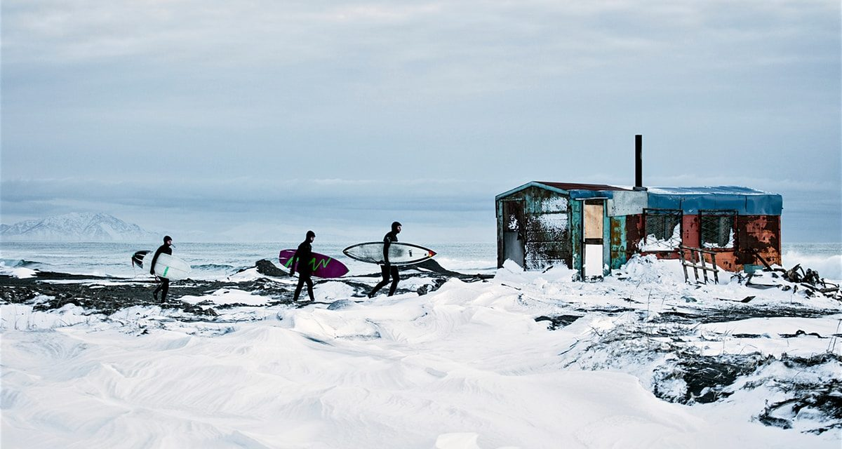 Surfing in Siberia: taking on the icy waves in Russia's wild