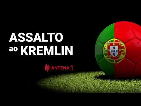 """""""Assaltoao Kremlin"""" – Hino de apoio à Sele ção Nacional Mundial 2018 Antena 1"""