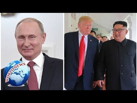 Putin takes CREDIT for Trump-Kimtop however advises nuclear battle danger STILL stays
