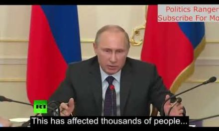 Putin Thug Moments Against Corruption