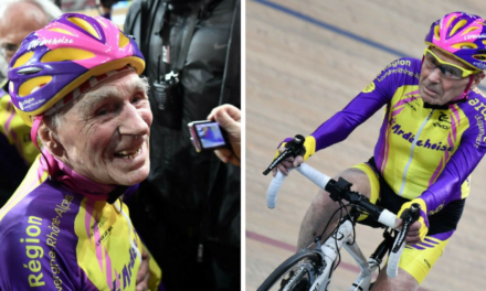 Age is simply a number. Ask this amazing, record-setting 105 -year-old biker.