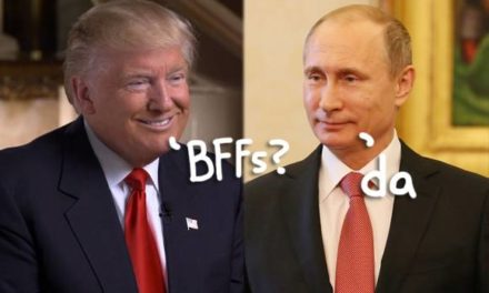 President-ElectDonald Trump Just Openly Praised Vladimir Putin On Twitter, So Ya Know … Freak out Now?
