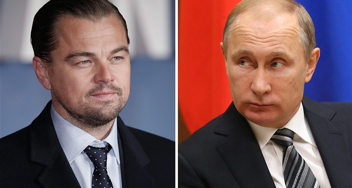 Leonardo DiCaprio: 'I would certainly enjoy to play Vladimir Putin'