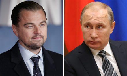 Leonardo DiCaprio: 'I would certainly enjoy to play Vladimir Putin'