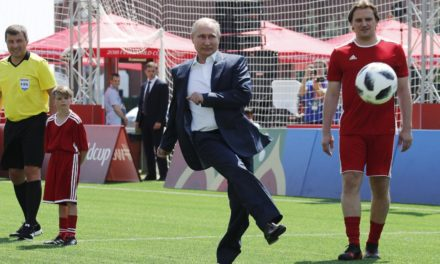 Forget the football, Vladimir Putin is the actual World Cup champion