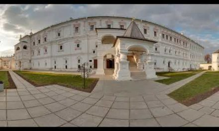 The royal residence of Oleg in the RyazanKremlin Panorama 360