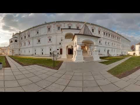 The royal residence of Oleg in the RyazanKremlin Panorama 360
