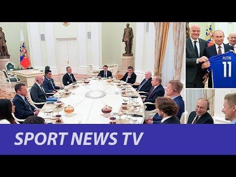 Ferdinand bare Schmeichel amongst legends of worldwide soccer to satisfy Putin