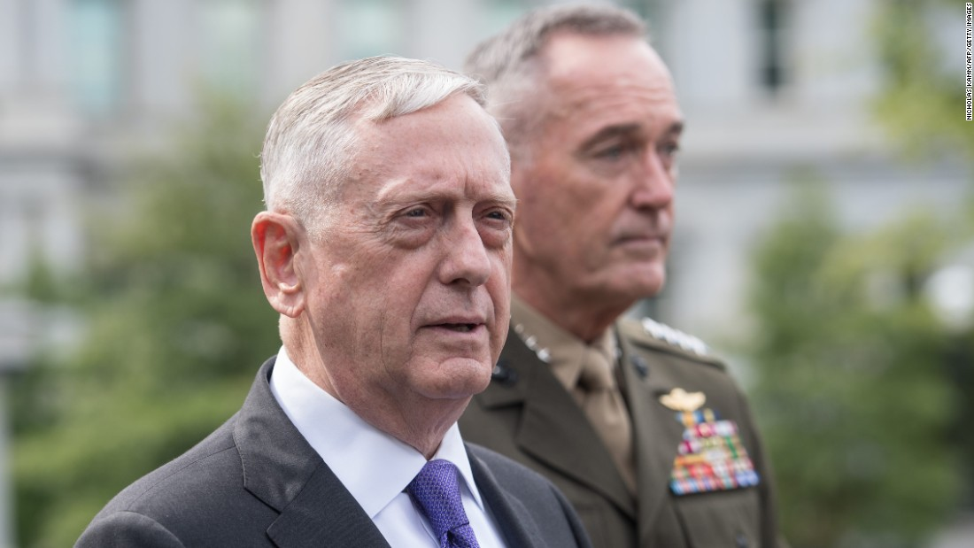 Mattis nations United States hasn't already rejected army activity versus Assad
