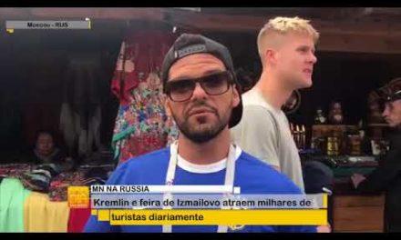 MN na Rússia: Kremlin e feira de Izmailovo atrai milhares de turistas diariamente