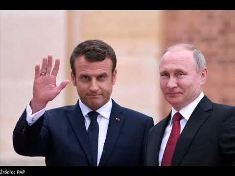 Putin spotka się z Macronem w Moskwie.