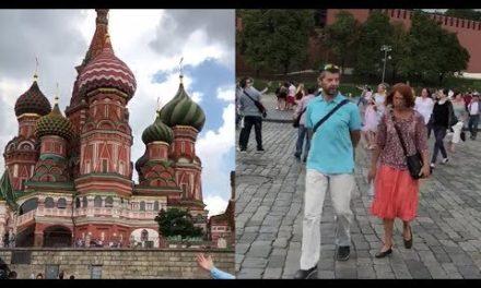 Suasana Kremlin di Moskow Jelang Piala Dunia 2018
