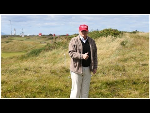 DAMAGING NEWS – Trump in Scotland for Putin conference preparation as well as golf