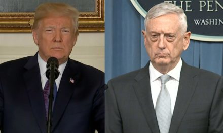 Trump-Mattisvibrant questions regarding breaking, stress and nervousnes at the Pentagon