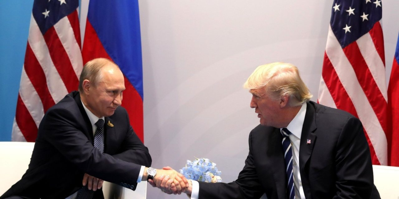 Donald Trump Had A Second Meeting With Vladimir Putin At G-2 0 Summit