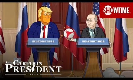 The Trump-PutinPress Conference|Our Cartoon President|OUTSET