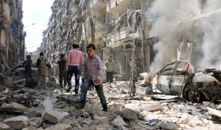 Tens of hundreds of individuals caught in heck of Aleppo
