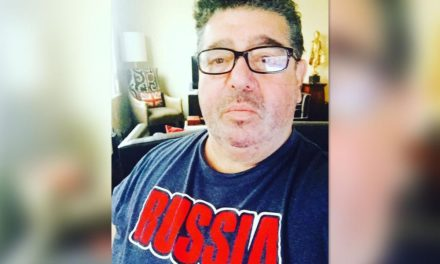 Rob Goldstone, press agent behind TrumpJr session, apparently in anxiousness and also hiding in ordinary view