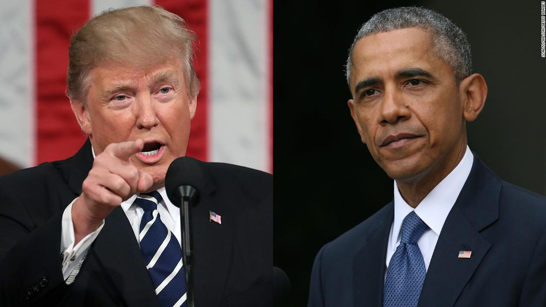 Trump requires apology, charges Obama of having 'blocked or conspired'