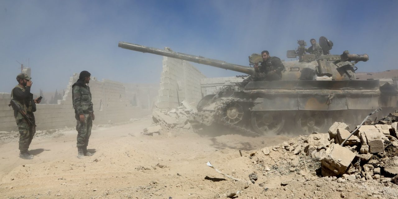 Syrian Government Forces Have Reportedly Taken Control Of Douma