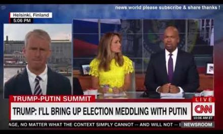 DAMAGING NEWS TOP SENATE DEMOCRATS TELL TRUMP NOT TO MEET PUTIN ALONE CNN