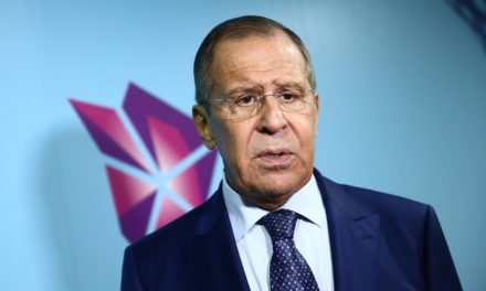 Lavrov highlightings have to deal last impact to terrorists continuing to be in Syria – TASS