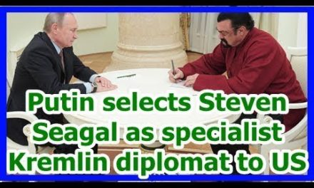 Today News – Putin chooses Steven Seagal as professional Kremlin mediator to United States