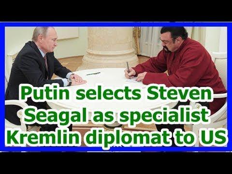Today News – Putin chooses Steven Seagal as professional Kremlin mediator to United States