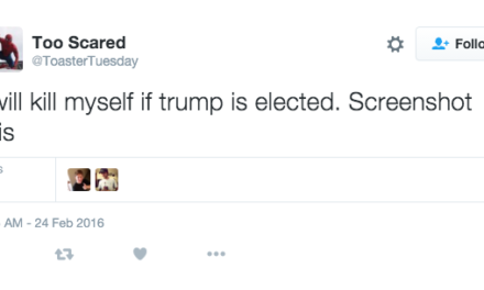 237 People Who Will' Literally' Kill Themselves If Trump Wins
