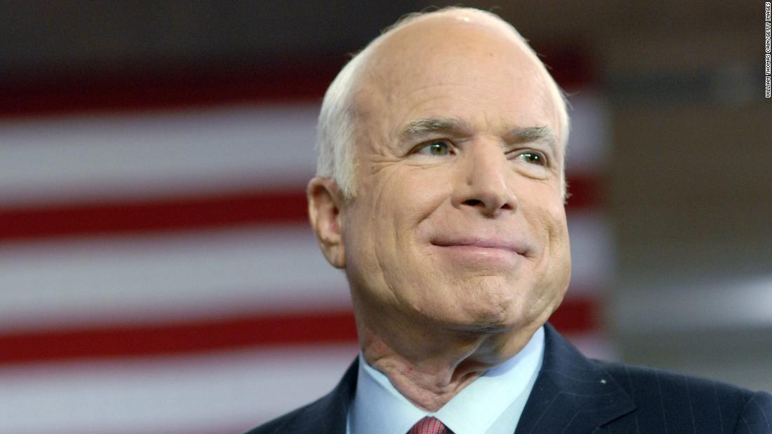 McCain penning 'no-holds-barred' Muse of history