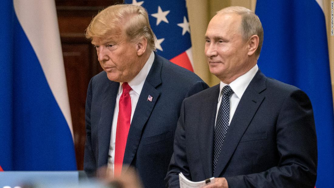 Reversals and also clean-up strengthen concerns concerning Trump and also Putin's individually