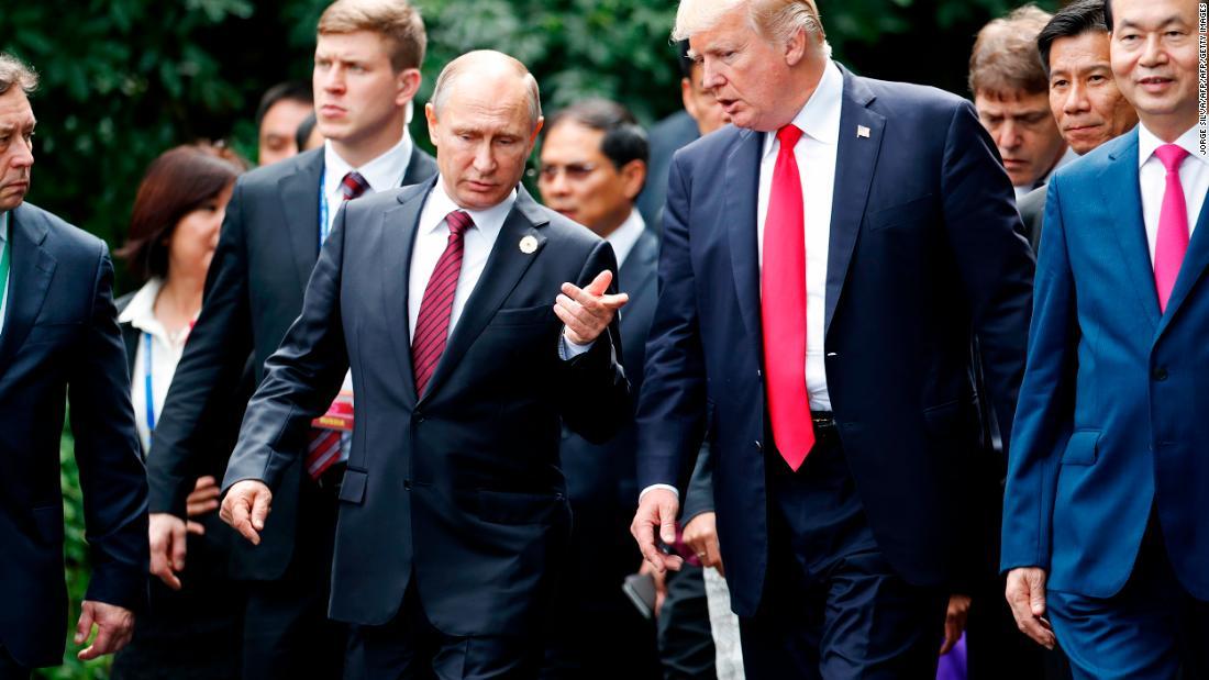 Putin needs to tug a quick a above Trump