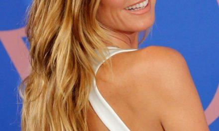 Heidi Klum, 44, disrobe for underwear line