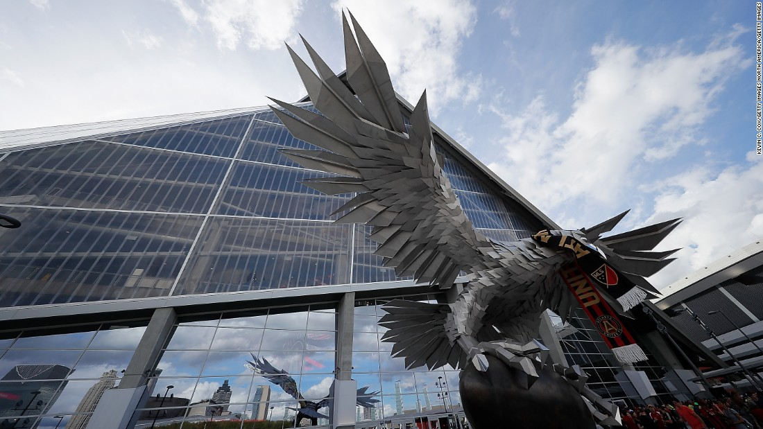 MLS: Playing in Atlanta United's 'astonishing' $1.5 billion brand-new residence