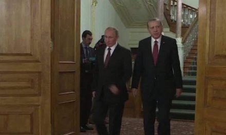 Chairwomen of Turkey, Russia huddle versus background of Syrian battle