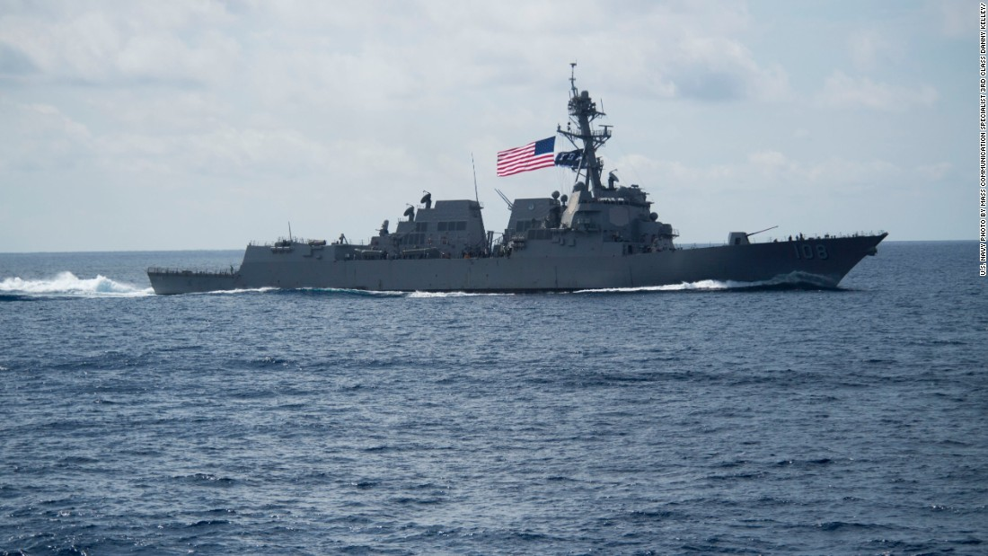 Is United States staying away from South China Sea under Trump?