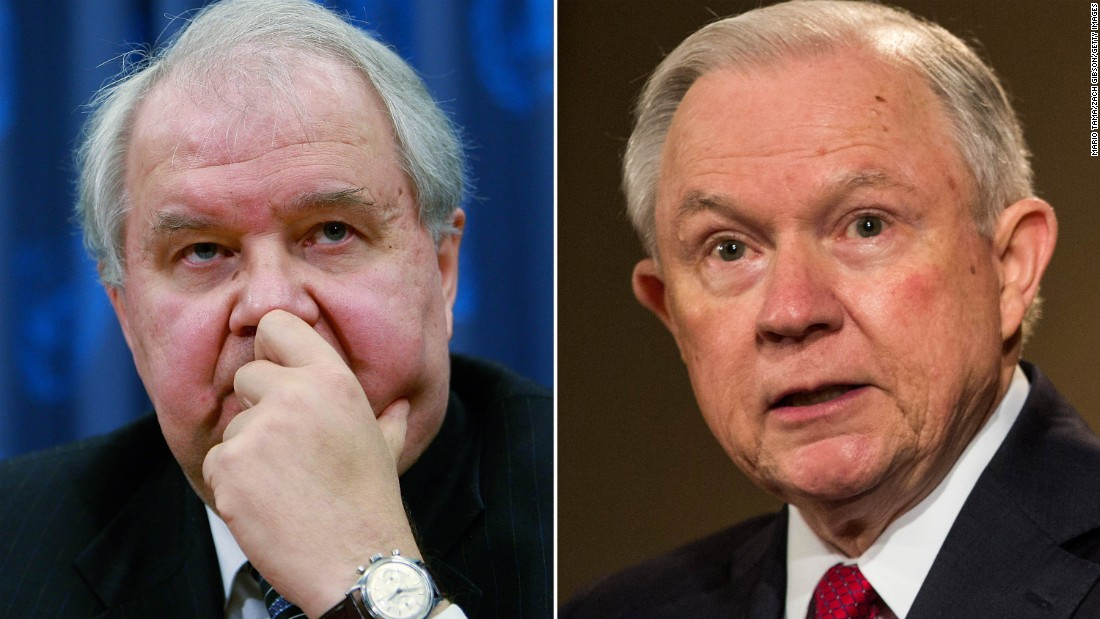 Jeff Sessions altercation: Russia denies its US ambassadress is one undercover