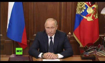 Putin zur Rentenreform: Änderungen im Rentensystem sind unumgänglich