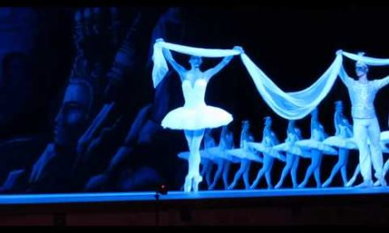 "Sixth International ballet event in the Kremlin royal residence."" La Bayadere "". Nikia – PolinaSemionova"
