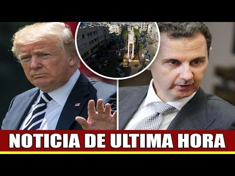 Trump dibuja LINEA ROJA en Siria en amenaza a Putin y Assad – 'Nohagas el mistake GRAVE!'